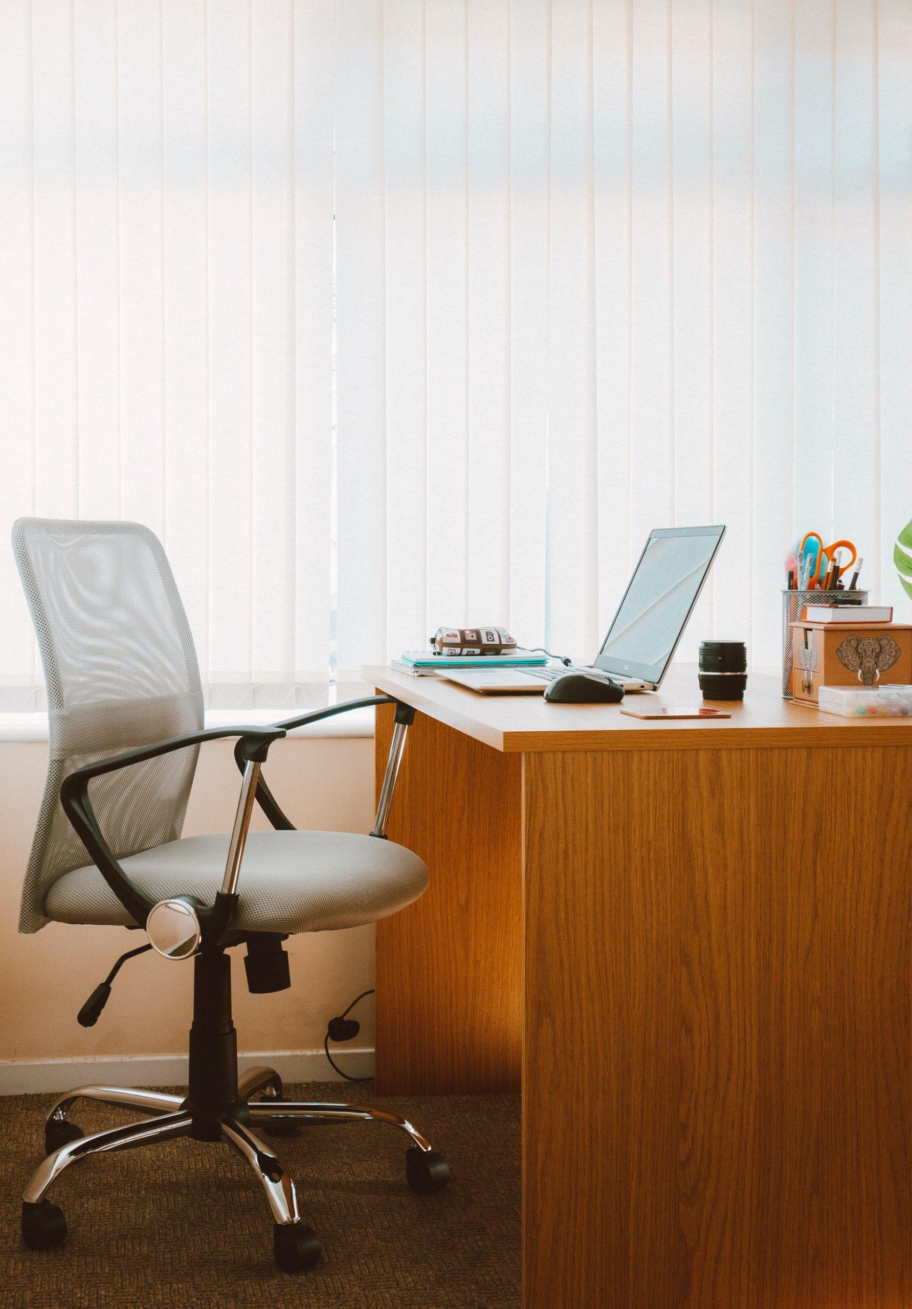 stoel op kantoor