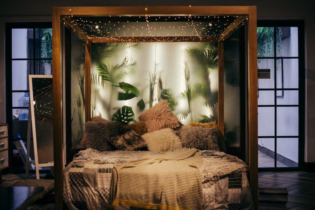 slaapkamer look